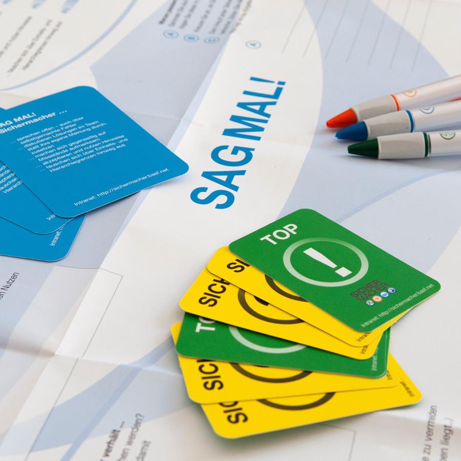 Design für ein Change-Management Projekt der BASF