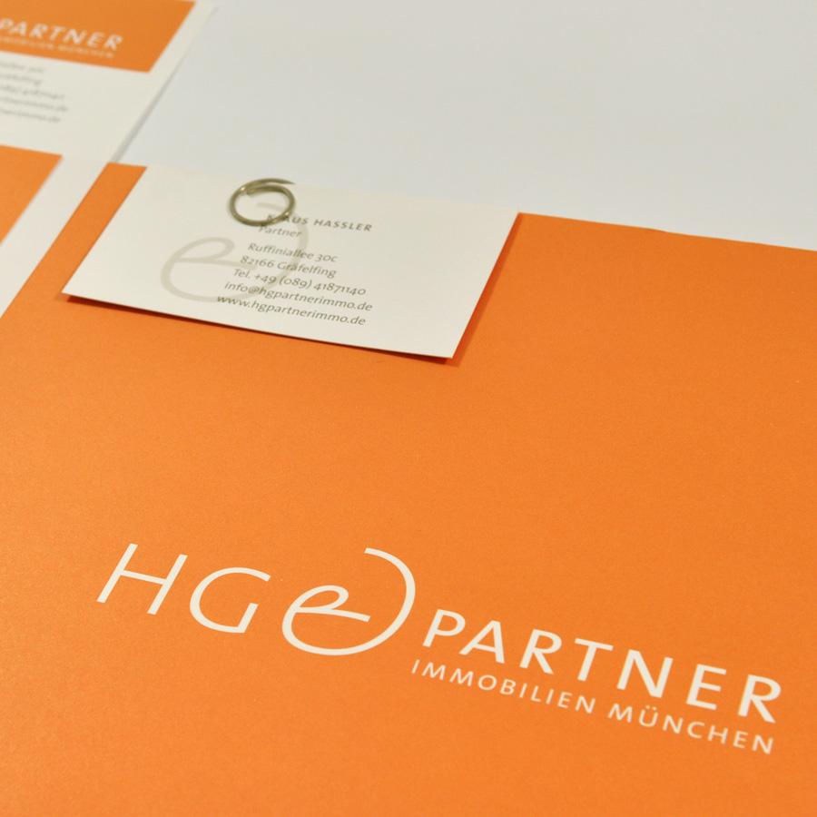 Corporate Design für HG&Partner Immobilien