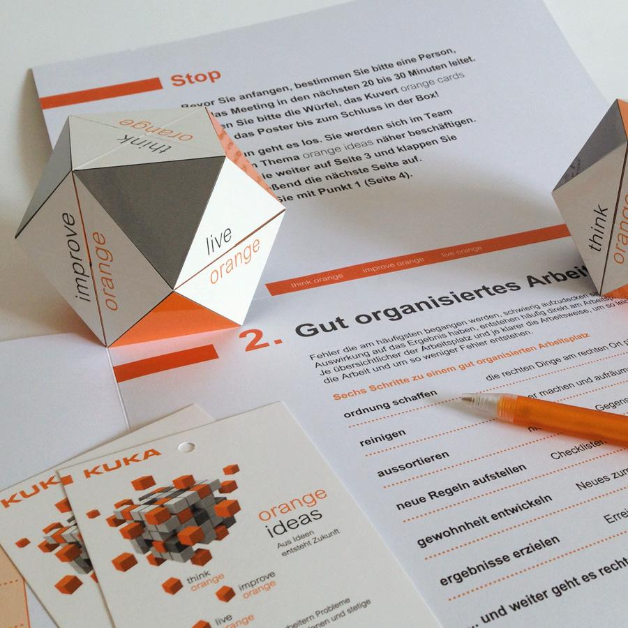 Workshop-Unterlagen für ein Change-Management Projekt der KUKA AG