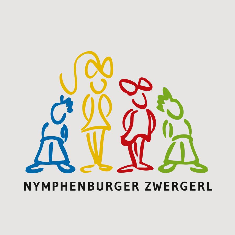"""Logodesign für die Kindergruppe """"Nymphenburger Zwergerl"""""""
